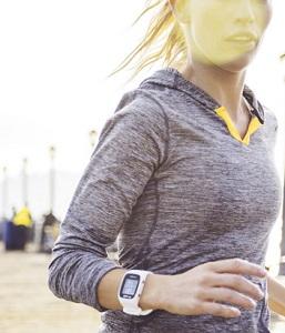 Löpning med en pulsklocka
