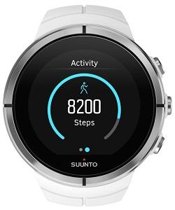 Denna klocka mäter aktiviteter dygnet runt.