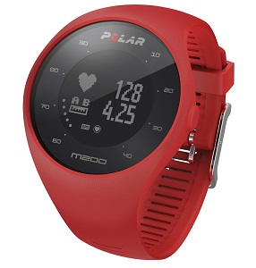 Polar M200 är en GPS klocka med optisk pulsmätning