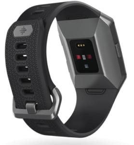 Ionic har optisk pulsmätning och GPS