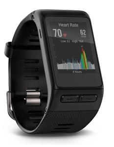 Vivoactive HR med optisk pulsmätning.